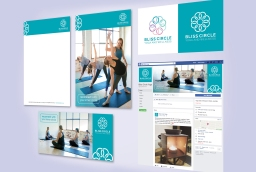 Bliss Circle Yoga Branding Development