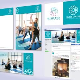 Bliss Circle Yoga Branding Development