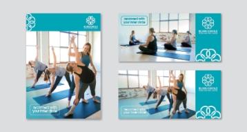 Bliss Circle Yoga Flyers