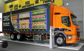 DAF trailer curtain