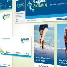 Bayside Podiatry dip their toes into a new brand