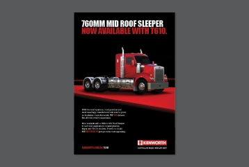 Kenworth T610 A4 Press Ad