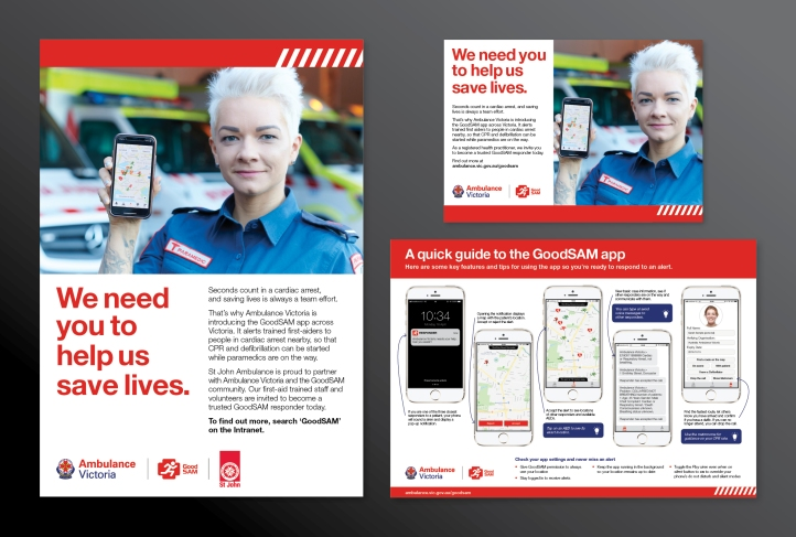 Ambulance Victoria GoodSAM Campaign